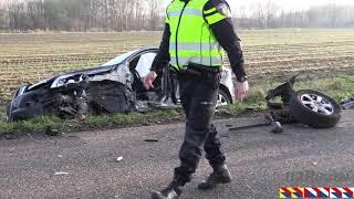 Lemelerveld – frontale aanrijding twee auto's