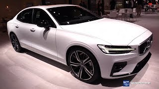 2019 Volvo S60 T6 R Design - Exterior and Interior Walkaround - 2018 LA Auto Show