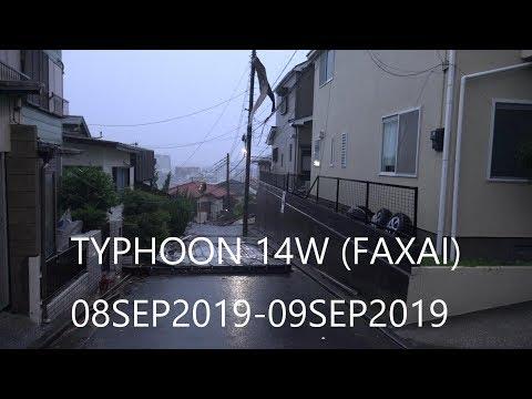 Typhoon 14W (Faxai) Aftermath Yokosuka, Japan