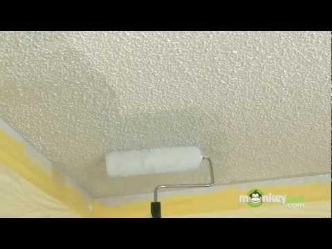 How To Roll On Popcorn Ceiling | How To Save Money And Do ...