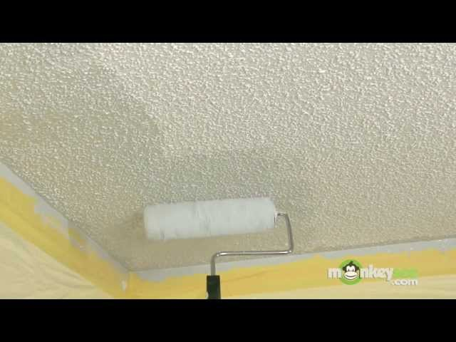 How to Paint a Popcorn Ceiling with Pictures wikiHow