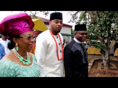 Oge & Chris  Traditional marriage trailer.Nnewi, Anambra State. African wedding.Nigeria wedding.