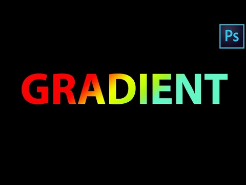 Gradient Text Effect - Photoshop Tutorial