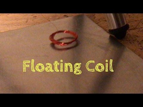 Levitating Copper Coils