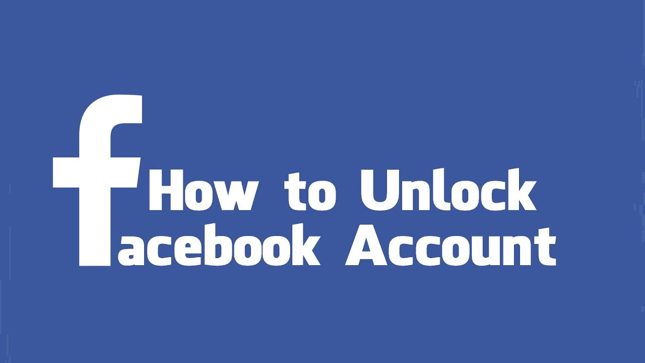 Unlock facebook password