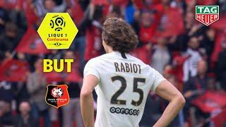 But Adrien RABIOT (11' csc) / Stade Rennais FC - Paris Saint-Germain (1-3)  (SRFC-PARIS) / 2018-19