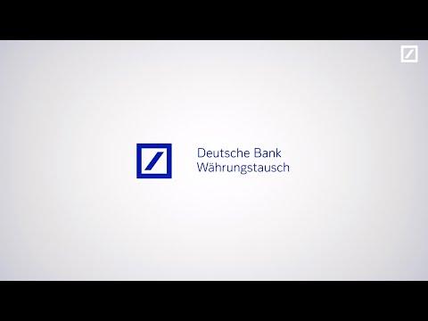 Deutsche Bank Währungstausch