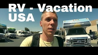 USA Road Trip // Motorhome // RV - 2015