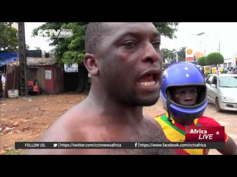 2 killed in Guinea clashes ahead of election