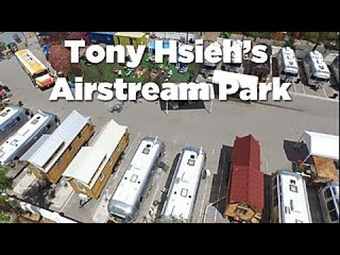 Tour Entrepreneur Tony Hsieh's Airstream Park - HGTV