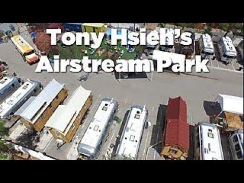 Tour Entrepreneur Tony Hsieh's Airstream Park - HGTV