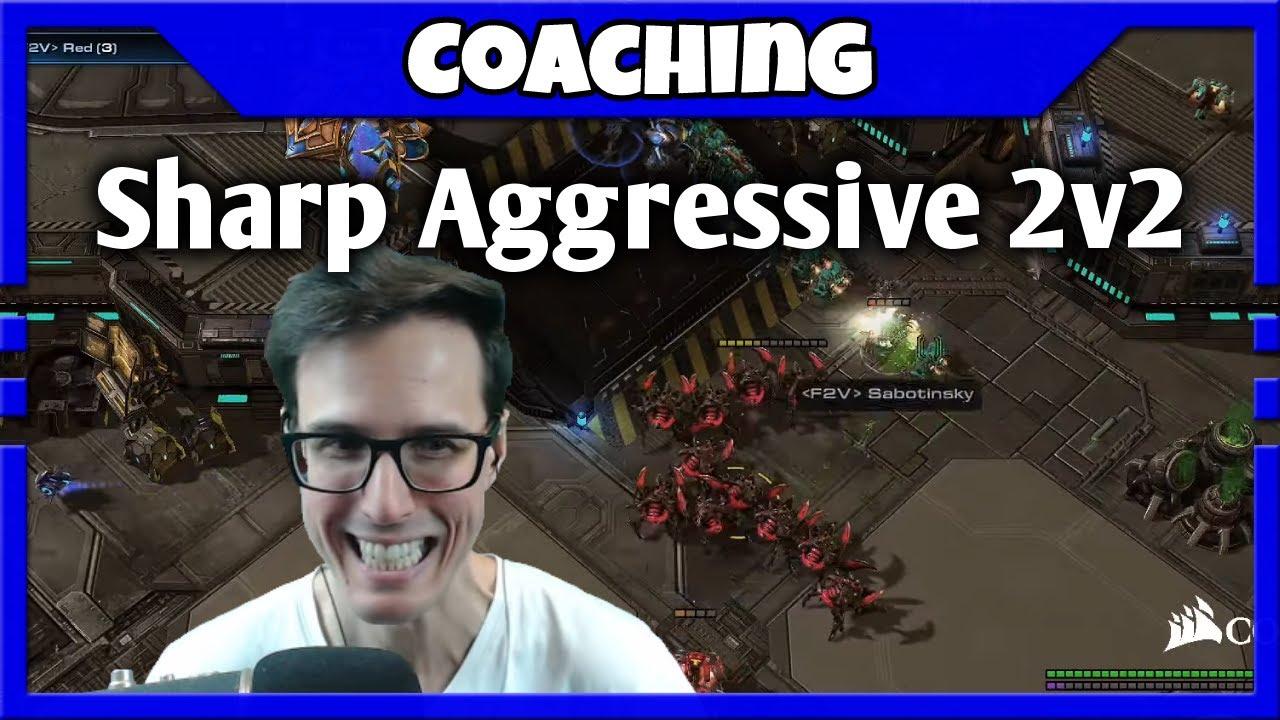 Sharp Aggressive Play   2v2 Coaching