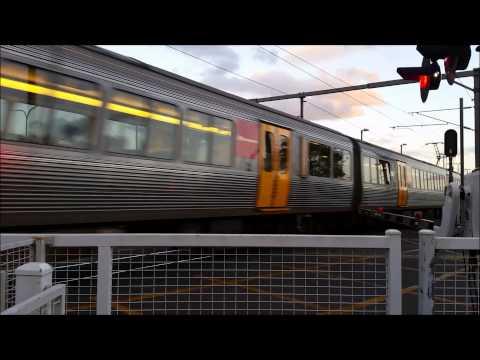 Queensland Rail MU122/IMU121 express through Sunshine.