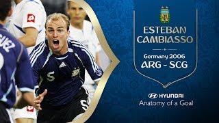 HYUNDAI Anatomy of a Goal - ESTEBAN CAMBIASSO ARG 2006