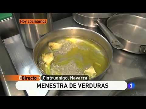 Receta de menestra de verduras ed youtube - Menestra de verduras en texturas ...