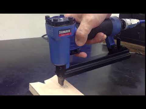SUMAKE Nailer- SIMPLE SAFETY LEVER