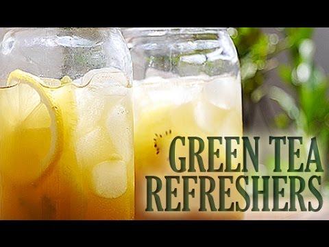 Green Tea Refreshers (BEVERAGE RECIPE) グリーンティーリフレッシュという夏のドリンクはいかが