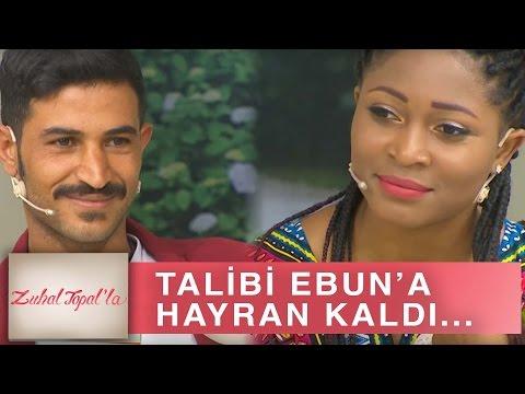 Zuhal Topal'la 188. Bölüm (HD) | Talibi Ebun'un Hangi Özelliğine Hayran Kaldı?