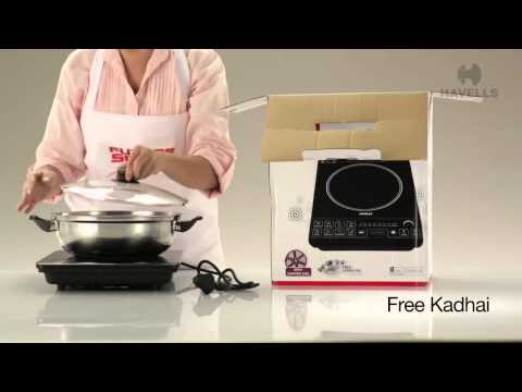 havells induction cooktop demonstration video doovi. Black Bedroom Furniture Sets. Home Design Ideas