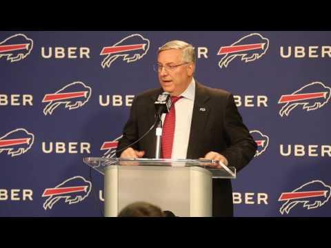 Bills owner Terry Pegula addresses the firing of GM Doug Whaley