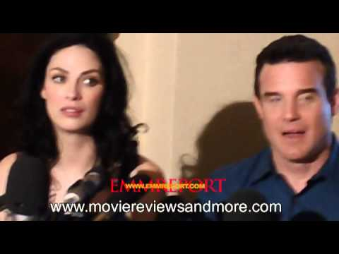 Eddie McClintock and Joanne Kelly from Warehouse 13 on the SyFy channel Mondays at 10pm9CT