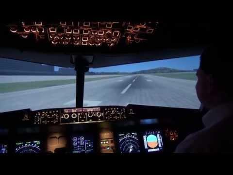 Airbus A320 Flugsimulator Stuttgart