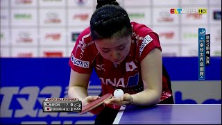 2015 Czech Open (WS-Final) FUKUHARA Ai - JEON Jihee ^ [HD] [Full Match/Chinese]