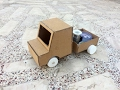 How To Make A Battery Powered Truck(Easy & Simple)-Toy