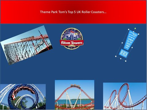 Theme Park Tom's 5 Favourite Coasters In The UK