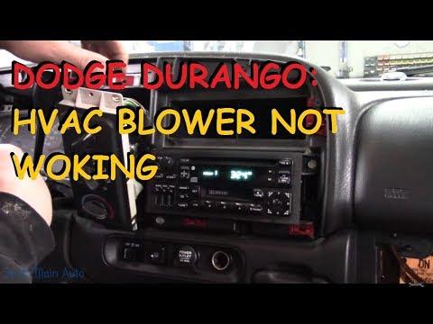 Dodge Durango: No Blower Motor