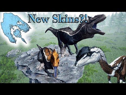 THE ISLE | New Skins Mod?! | AMAZING DINO SKINS!