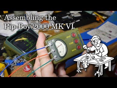 Assembling the Pip-Boy 2000 Mk VI