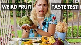 EXOTIC FRUIT TASTE TEST! Mukḃang Monday