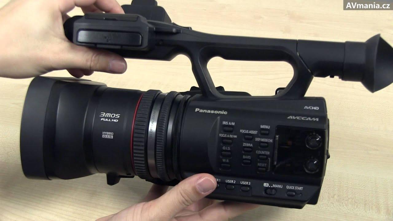 Kamera Panasonic AG-AC90 - YouTube