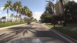 Bal Harbour, Florida - Drive through Bal Harbour HD (2015)