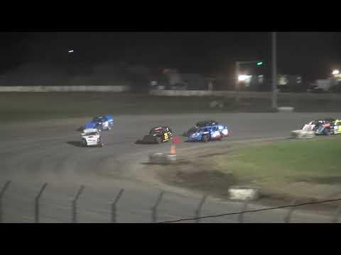 IMCA Sport Mod B-Main 1 Davenport Speedway 9/21/18