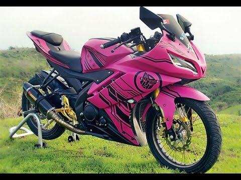 Cah Gagah   Video Modifikasi Motor Yamaha R15 Velg Jari-jari Keren Terbaru