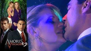 Amores Verdaderos: ¡Arriaga y Victoria no pueden frenar su amor! | Escena - C53