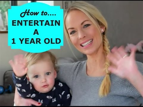 HOW TO ENTERTAIN A 1 YEAR OLD | EMILY...