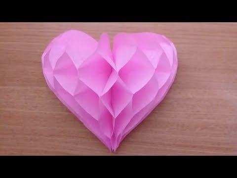 Corazón 3d Fácil Papel China Youtube
