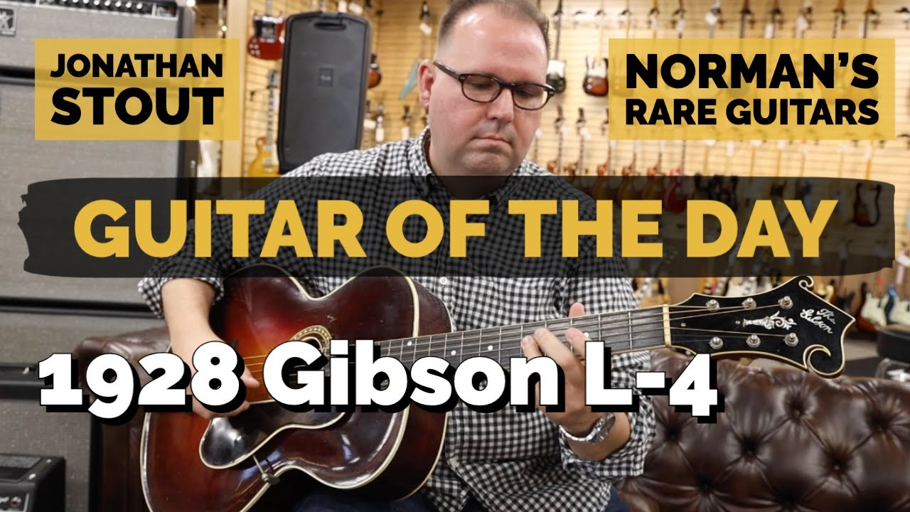 Guitar of the Day: 1928 Gibson L-4 Sunburst | Jonathan Stout at Norman's Rare Guitars