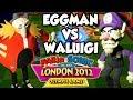 ABM: Dr.Eggman Vs Waluigi !! Mario & Sonic Olympic Games London 2012 Dream Match!!