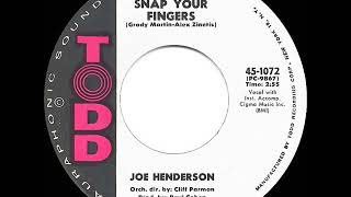Gambar cover 1962 HITS ARCHIVE: Snap Your Fingers - Joe Henderson