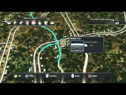 Test Drive Unlimited 2 - All Hawaii Car Dealers Location - Max Zoom - HD