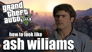GTA 5 ONLINE - How to Look Like Ash Williams (Evil Dead)