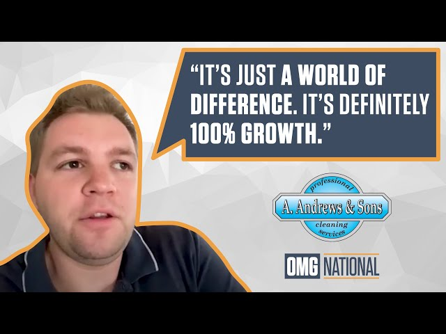 OMG National Testimonial - A Andrews & Sons Cleaning & Restoration