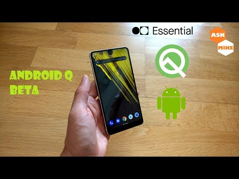 Install Android Q Beta Essential Phone PH-1