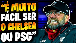 Klopp DETONA PSG, Man City e o Chelsea ?