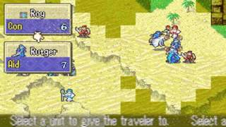 FE6 Hard Mode Low Turn Count Run - Chapter 14: Arcadia