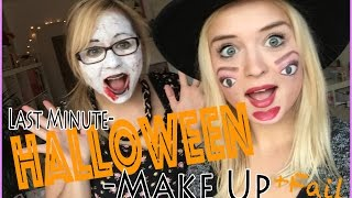 Last Minute HALLOWEEN MAKE UP (+ MEGA FAIL) // By GossipGold